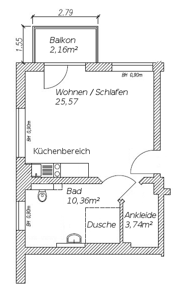05_Appartement5_Grundriss